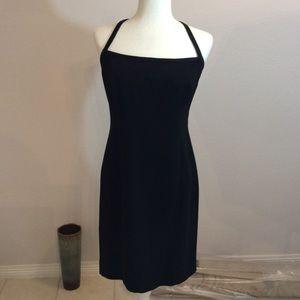 JONES NEW YORK DRESS FORMAL BLACK DRESS